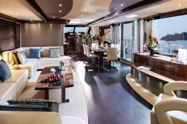 Autumn  Sunseeker Yacht 28M Interior 2