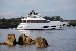 Autumn Sunseeker Yacht 28M Exterior 3