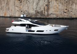 High Energy  Sunseeker Yacht 28M Exterior 1