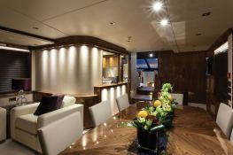 High Energy  Sunseeker Yacht 28M Interior 4