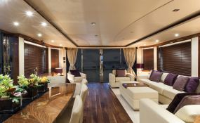 High Energy  Sunseeker Yacht 28M Interior 3