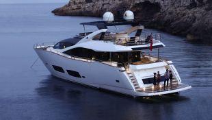High Energy  Sunseeker Yacht 28M Exterior 2