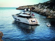 High Energy  Sunseeker Yacht 28M Exterior 1
