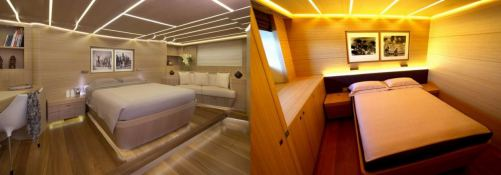 Ohana Fitzroy yachts Sloop 50M Interior 1
