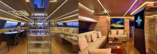 Ohana Fitzroy yachts Sloop 50M Interior 2