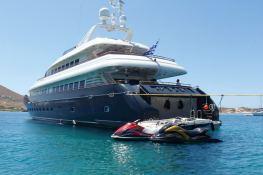 Jaan (ex O'Pari) Intermarine Yacht 42M Exterior 2