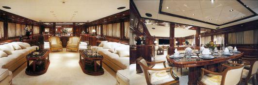 Jaan (ex O'Pari) Intermarine Yacht 42M Interior 1