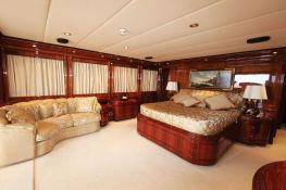 Jaan (ex O'Pari) Intermarine Yacht 42M Interior 3