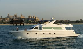 Yacht 86 Gulf Craft Exterior 1