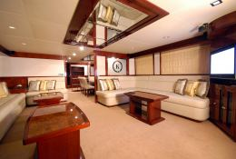 Yacht 86 Gulf Craft Interior 1