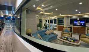 Mabruk III  Leight Notika Yacht 35M Interior 1