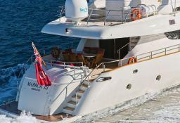 Mabruk III  Leight Notika Yacht 35M Exterior 2