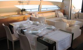 Scintilla  Pershing Yachts Pershing 80 Interior 1