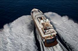 Cappuccino Tigullio Yacht 32M Exterior 2