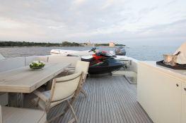 Cappuccino  Tigullio Yacht 32M Exterior 9