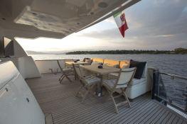 Cappuccino  Tigullio Yacht 32M Exterior 11