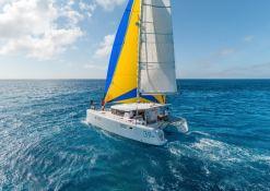 charter a Lagoon 39 catamaran