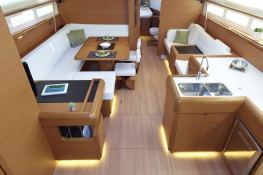 Sun Odyssey 519 with A/C and Watermaker Interior 1