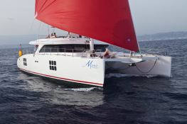 Muse Sunreef Catamaran Sail 70' Exterior 1