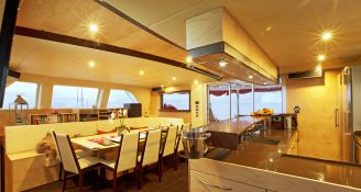 Muse Sunreef Catamaran Sail 70' Interior 1