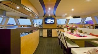 Muse  Sunreef Catamaran Sail 70' Interior 2