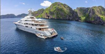 TV (ex MadSummmer) Lurssen Yacht 78M Exterior 3