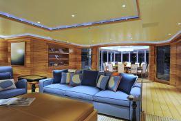TV (ex MadSummmer) Lurssen Yacht 78M Interior 4