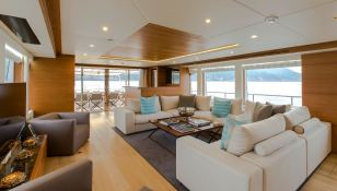 Mykonos  Gulf Craft Yacht 107 Interior 2