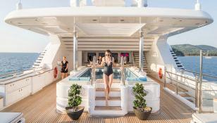 Titania  Lurssen Yacht 73M Exterior 8