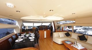Hooligan of Cowes Sunseeker Predator 82' Interior 1