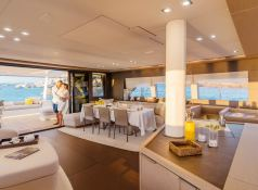 Adriatic Dragon  Lagoon Catamaran Lagoon 77 Interior 1