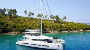 Adriatic Dragon  Lagoon Catamaran Lagoon 77 Exterior 1