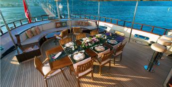 Ketch 40m Barka Yachts Exterior 2