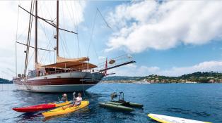 Ketch 40m Barka Yachts Exterior 3