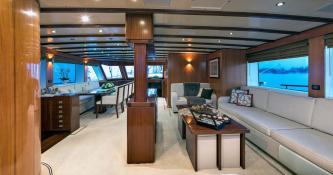 Ketch 40m Barka Yachts Interior 1