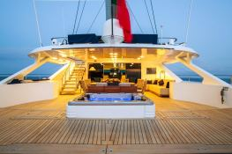 Hutiane (ex La Sella Del Diavolo)  Catamaran 31M Exterior 3