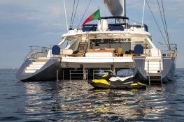 Hutiane (ex La Sella Del Diavolo)  Catamaran 31M Exterior 4