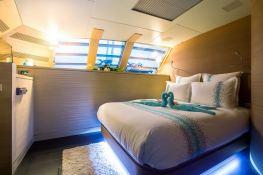 Hutiane (ex La Sella Del Diavolo)  Catamaran 31M Interior 7