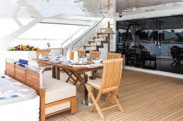 Hutiane (ex La Sella Del Diavolo)  Catamaran 31M Interior 13