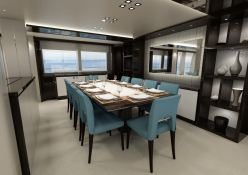 Jacozami  Sunseeker Yacht 131 Interior 2