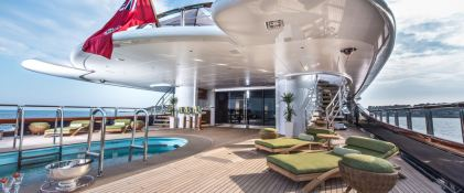 Sunrise Oceanco Yacht 52M Exterior 3