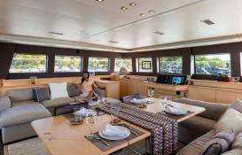 My Cute Little Cat  Lagoon Catamaran Lagoon Motoryacht 630 Interior 1