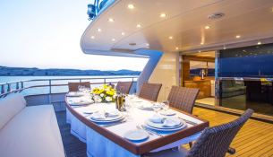 Nomi Picchiotti Yacht 31M Interior 1