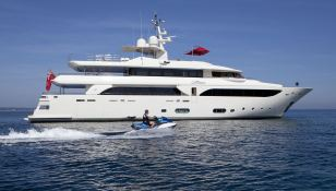 Emotion  CRN Yacht 43M Exterior 3