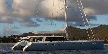Slim Catamaran Gunboat 66 Exterior 2