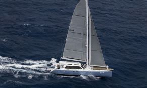 Slim Catamaran Gunboat 66 Exterior 1