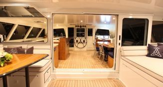 Slim Catamaran Gunboat 66 Interior 2