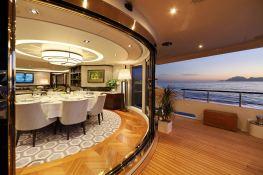 Aurelia  Heesen Yacht 37M Interior 10