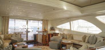 Incognito (ex Yianis) Overmarine Mangusta 130 Interior 1