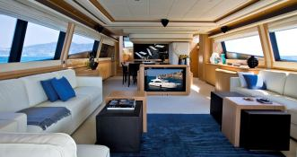 Maxi Beer  Ferretti Yacht 881 Interior 1